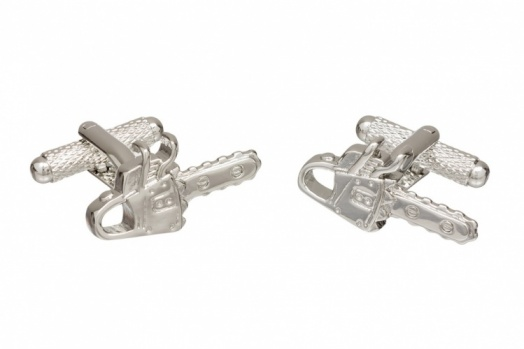 Chainsaw Cufflinks